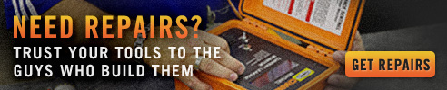 Get repairs. Trust your tools to the guys who build them.