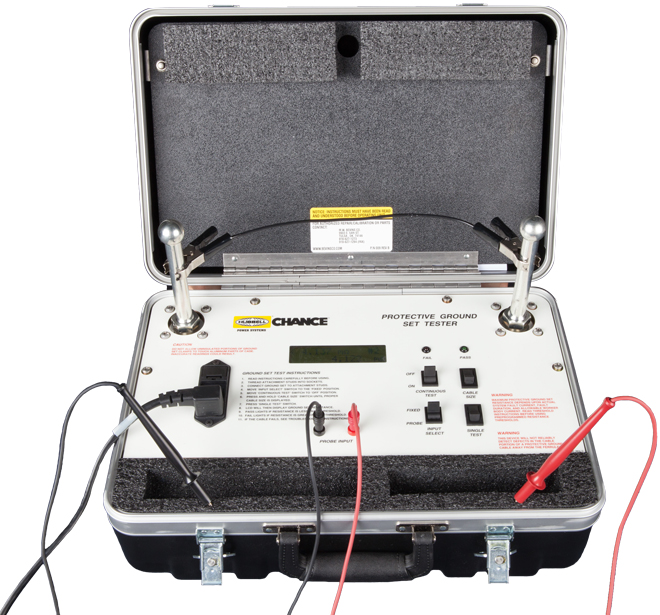 C4033220 Protective Grounding Set Tester With Wires