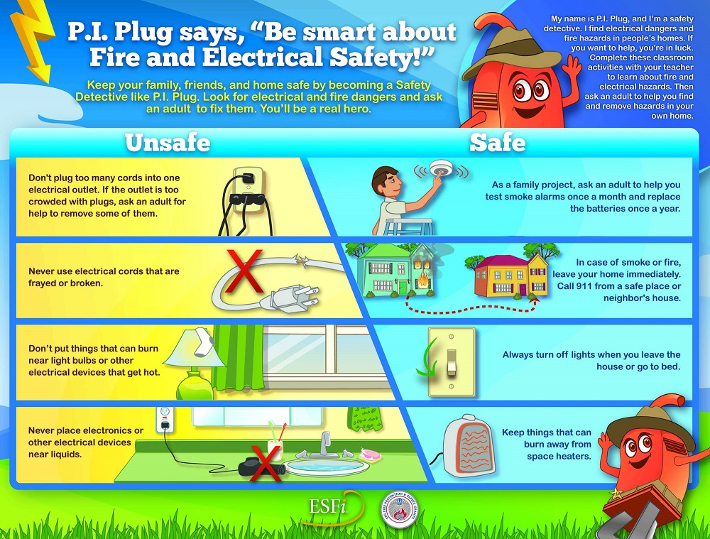Electrical Safety Month – Keep It Safe, Kids – Bevins Co