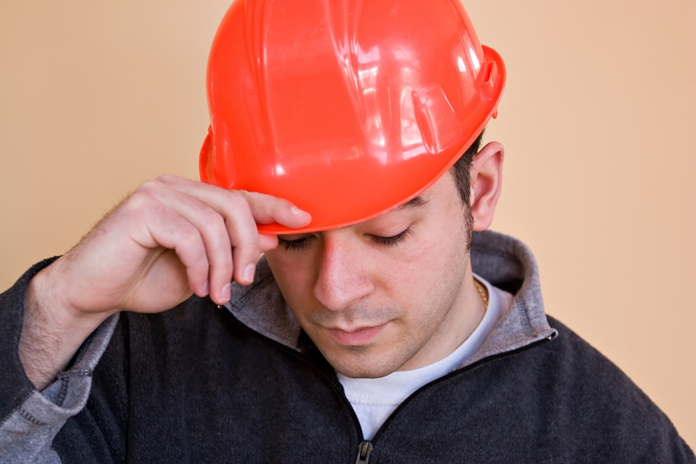 Man in Hard Hat Tipped (full)
